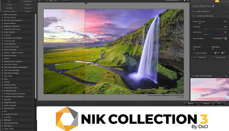 nueva versión de Nik Collection