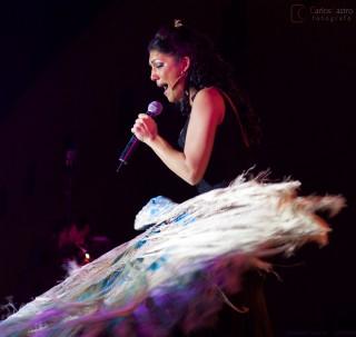 Joana Jimenez en concierto